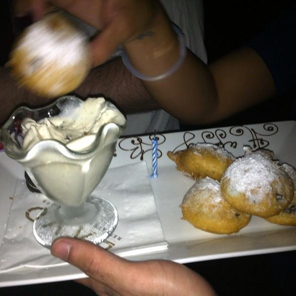 Deep Fried Oreo's And Ice Cream @ LAVO Italian Restaurant & Nightclub