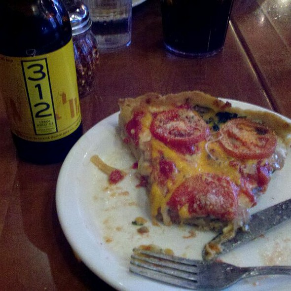 "Deep Dish Pizza: The ""Lou"" @ Lou Malnati's Pizzeria - South Loop"