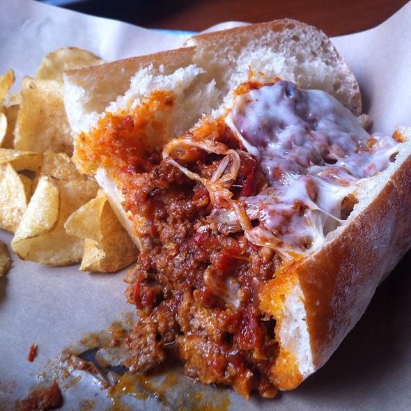 Meatball Hero @ Kenny & Zuke's Sandwichworks
