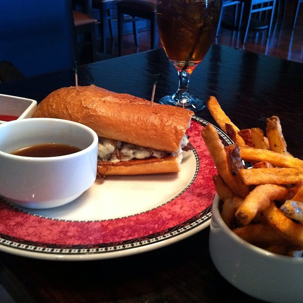 Prime Rib Sandwich & Fries - Ophelia's Restaurant, Independence, MO