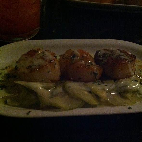 Honey-Miso Scallops - The Rumor Mill, Ellicott City, MD