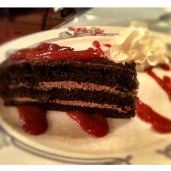 Sacher Torte @ Rathskeller Restaurant