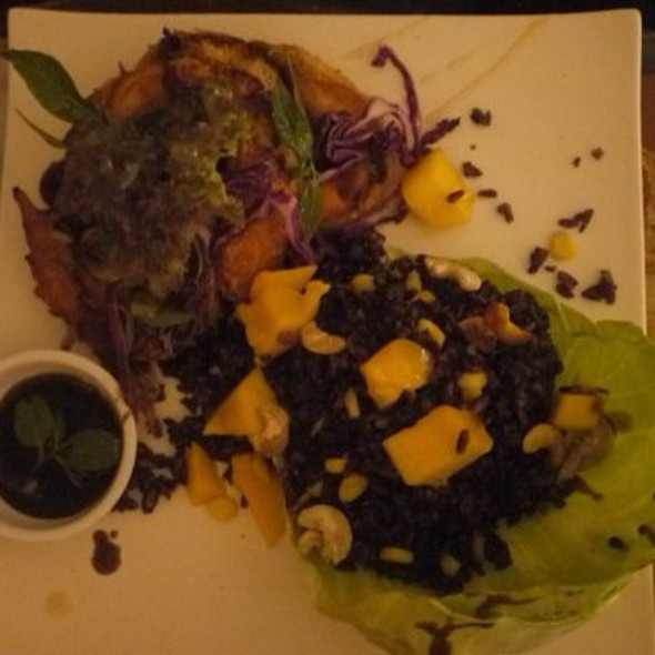 Salmon Belly And Black Rice @ Van Gogh Is Bipolar