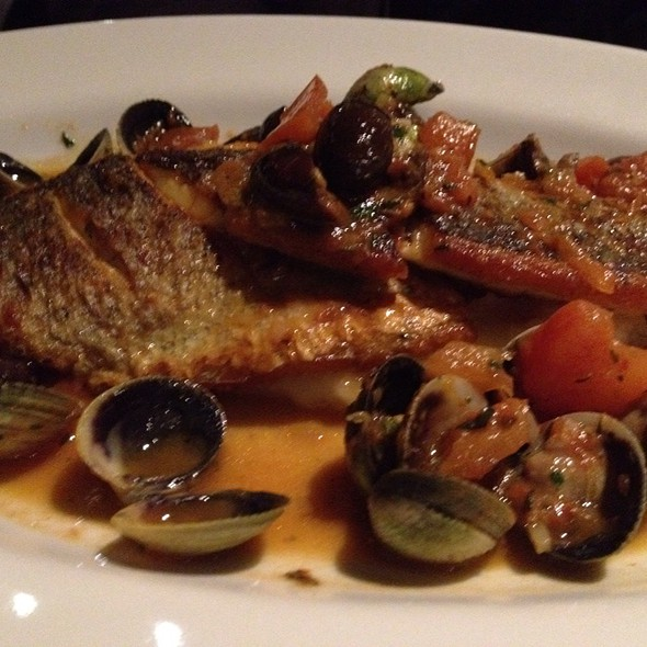 Branzino Alla Mediterranea @ Broken English