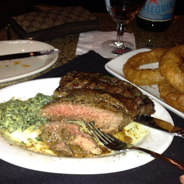 Rib Eye Steak Special @ Ruth's Chris Steak House