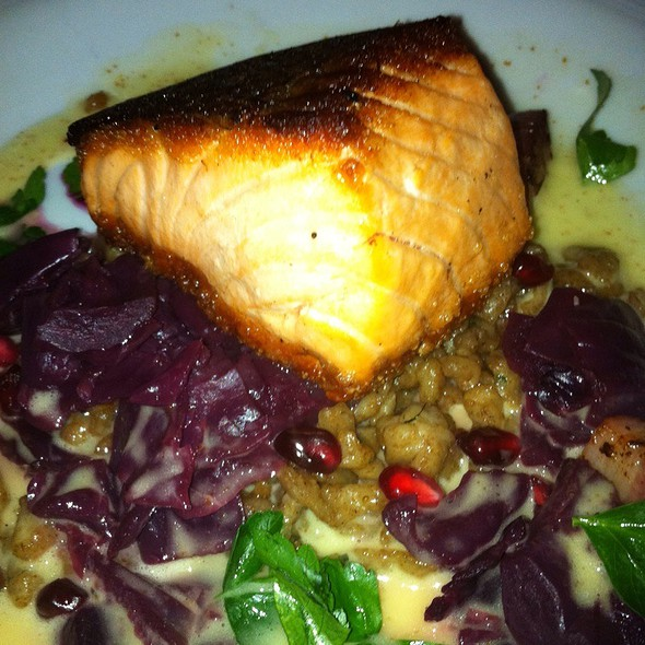 Salmon Filet - Art and Soul, Washington, DC
