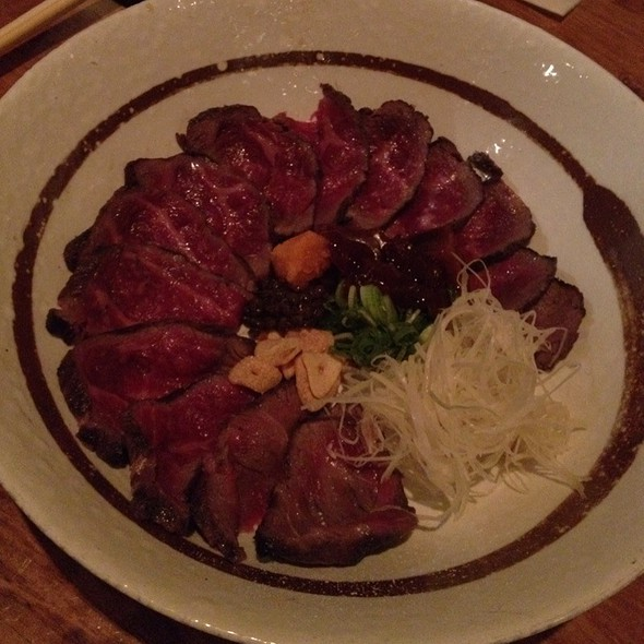 Kobe Beef Tataki  @ Aburiya Raku Restaurant