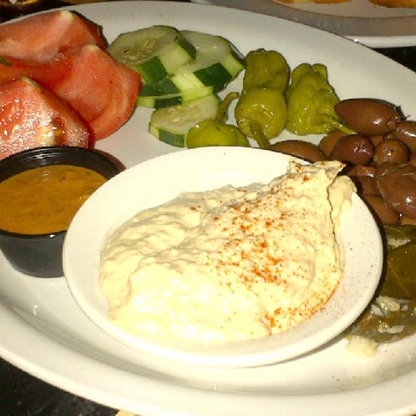 Hummus Platter @ Van Dyke Cafe