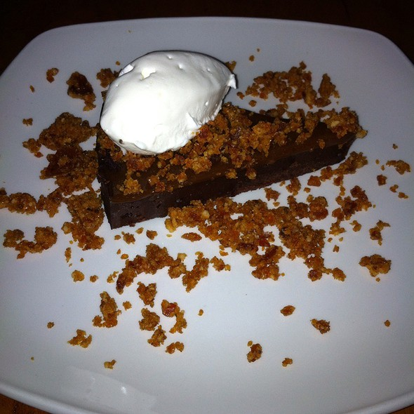 Chocolate Caramel Walnut Torte @ locavore