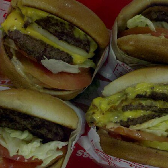 Cheese Burgers @ In-N-Out Burger