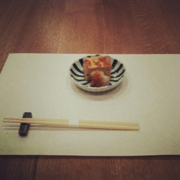 出汁巻き卵(Dashimaki tamago:Omlete Japanese style) @ Tekiseikan (摘星館)