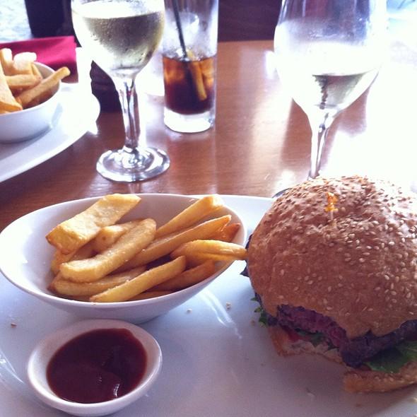 Wagyu Burger And Fries @ I'm Angus Steak House