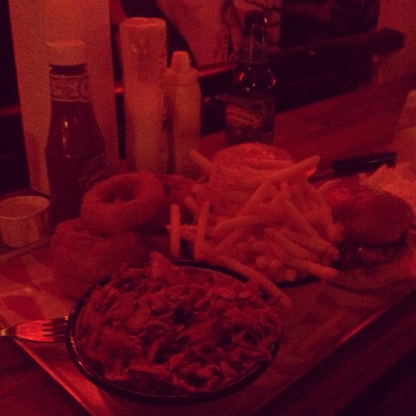 Bacon Cheese Burger @ MEATliquor