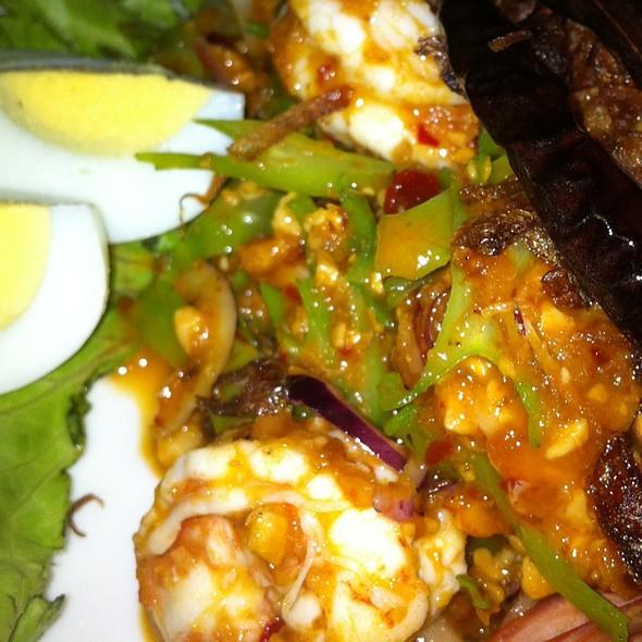 Spure Bean Salad (ยำถั่วพู) @ ระเบียงโมกข์