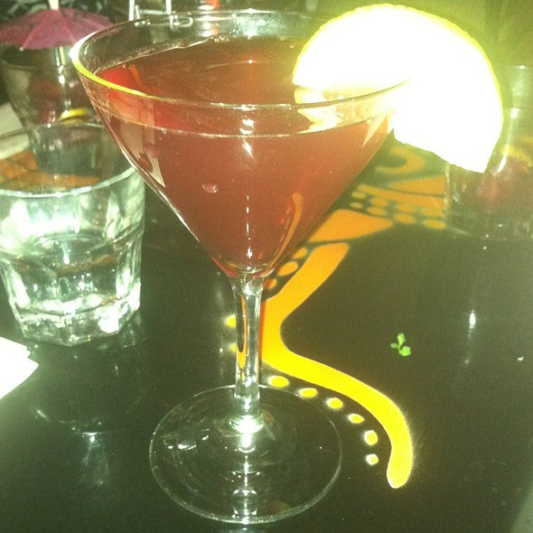 Purple Rain Cosmo @ Salvation Cafe
