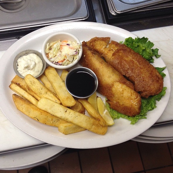 The Best Fish And Chips In Town @ Jersey Street Bar and Grill