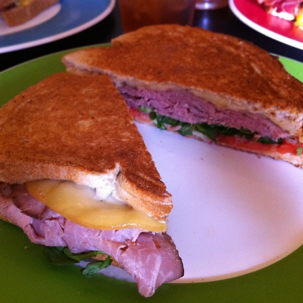 Roast Beef Sandwich @ Pom Pom's Tea House & Sandwicheria