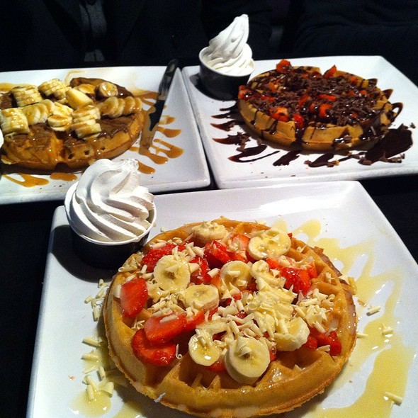 Belgian Waffle @ Creams Southall
