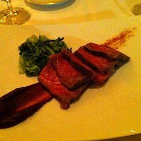 Waygu Beef - The Table Restaurant at the H Hotel, Midland, MI