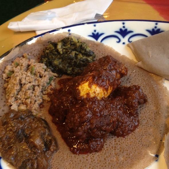 Number 3  @ Aster's Ethiopian Restaurant