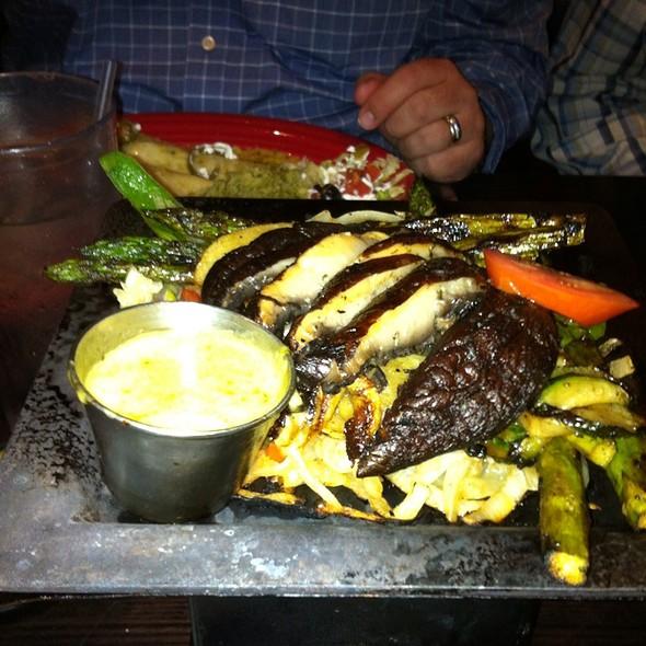 Portabello Vegetable Fajitas @ Coyote Blues