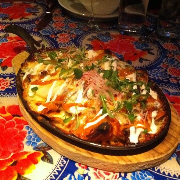 Pulled Meat Nachos @ Distrito Restaurant