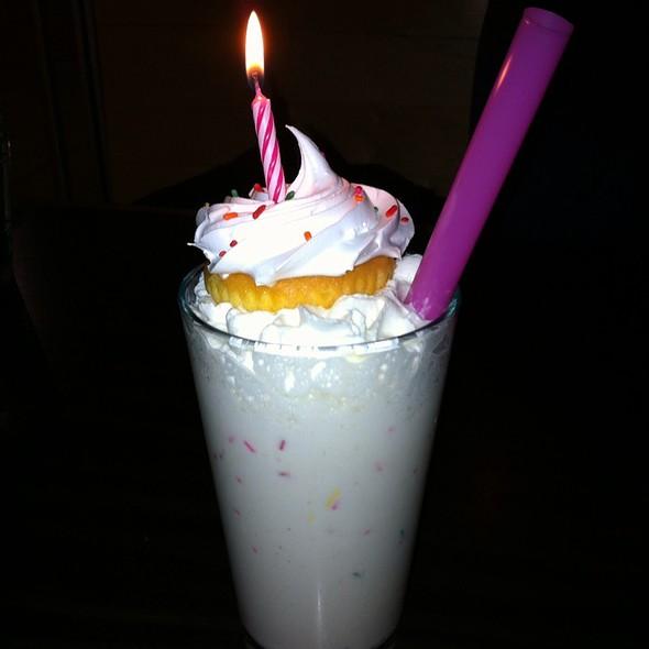 Birthday Cake Adult Milkshake @ PYT