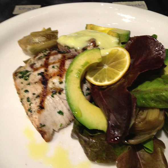 Grilled Yellowtail @ Cooks County Restaurant