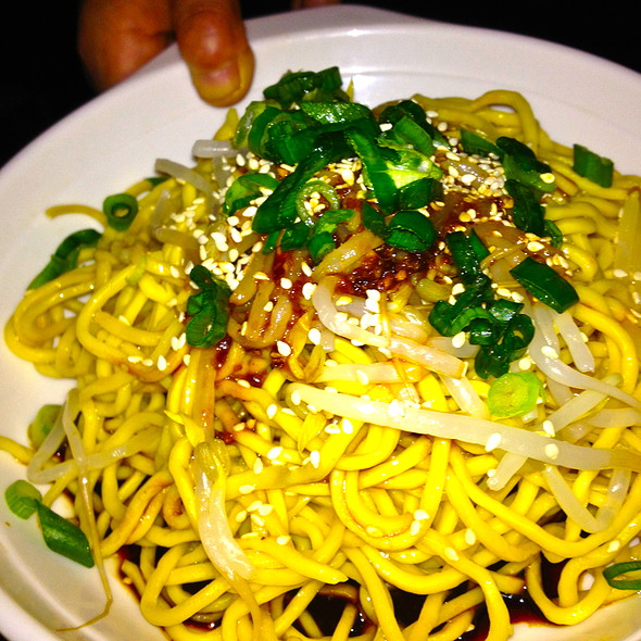 spicy cold noodles @ Mala Tang