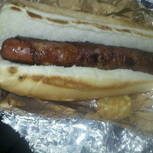 Dog Wrapped In Bacon @ Dogtown Food Truck