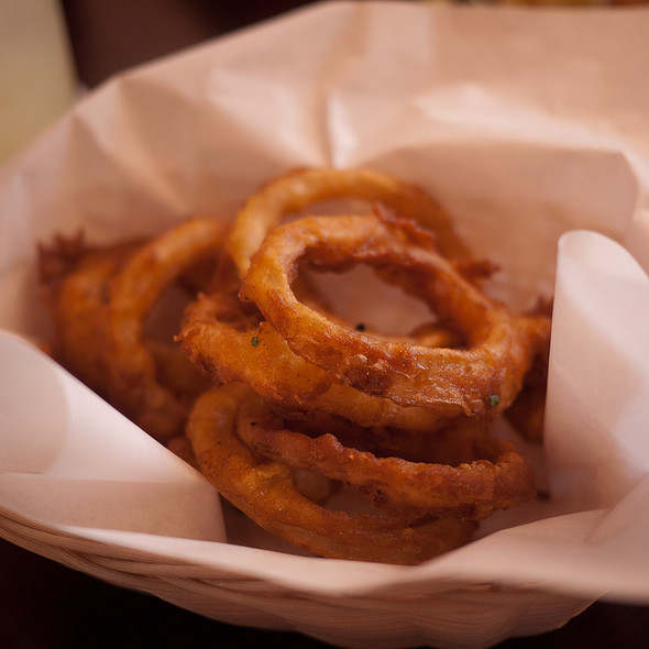 Beer Battered Onion Rings - Billy's Boston Chowder House, Los Gatos, CA
