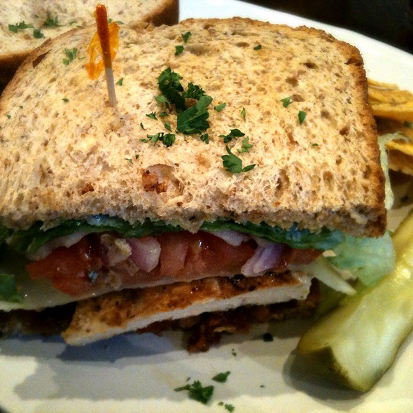 The A-Ron Sandwich @ Stardust Cafe