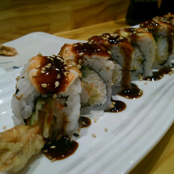 Shrimp Killer Roll @ Rock And Roll Sushi