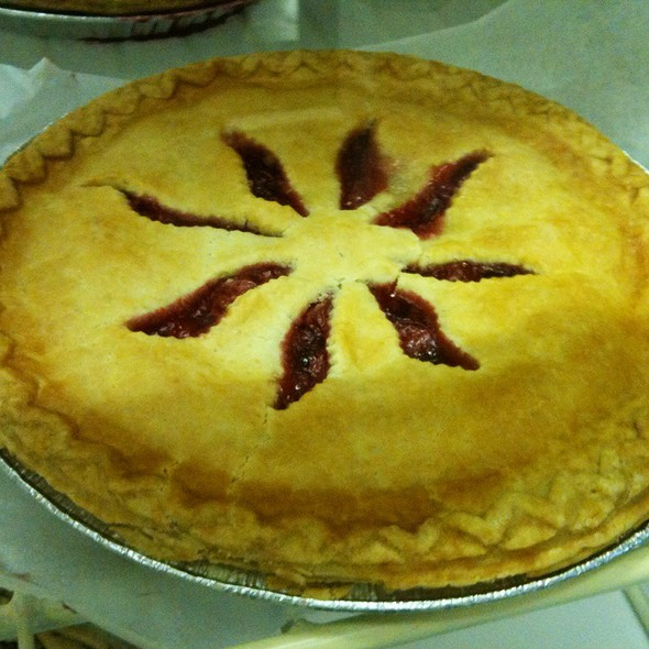 Cherry Pie @ Mrs. Rowe's Family Restaurant