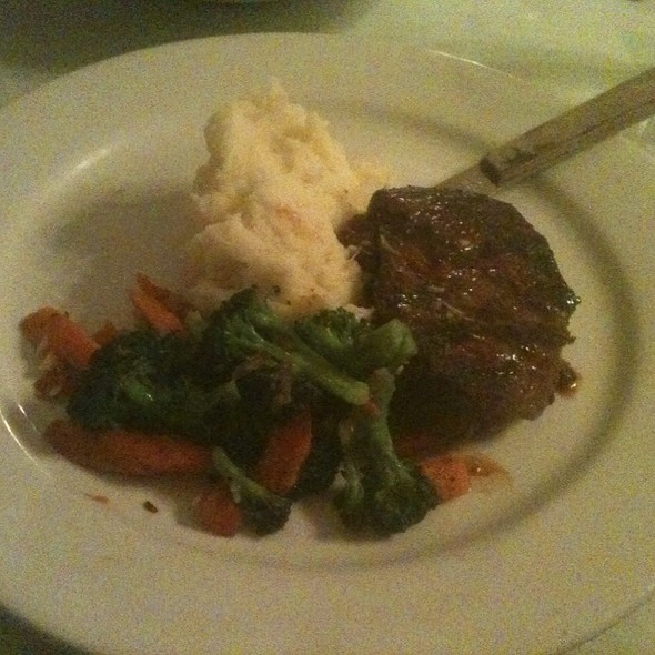 Angus Sirloin @ Vineyard House Restaurant