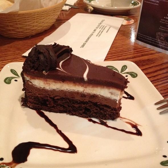 Black Tie Mousse Cake At Olive Garden