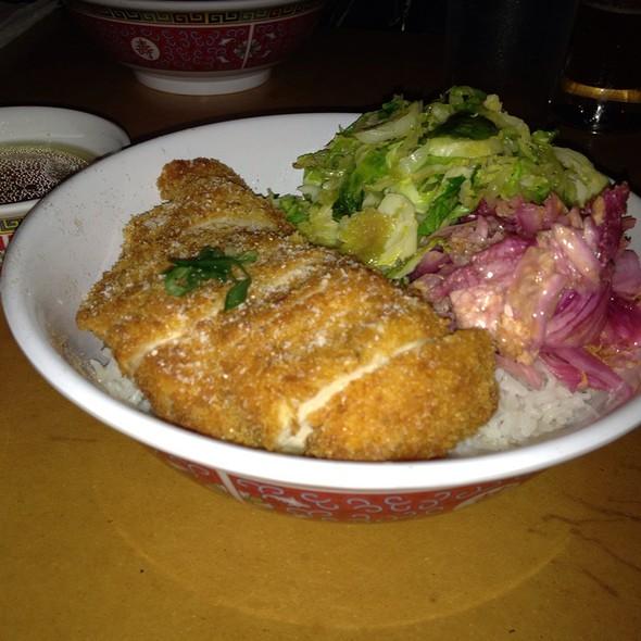 Crispy Chicken @ Rice Broker