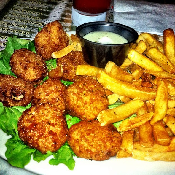 Fried Macaroni And Cheese @ Rhino Bar & Pumphouse