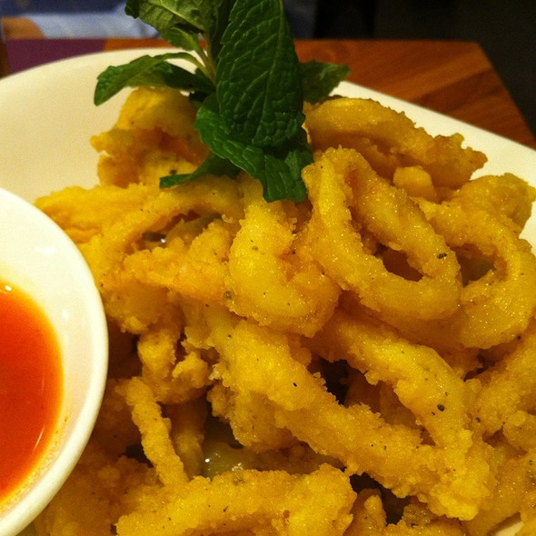 Salt and Pepper Squid @ Nahm Vietnamese and Thai