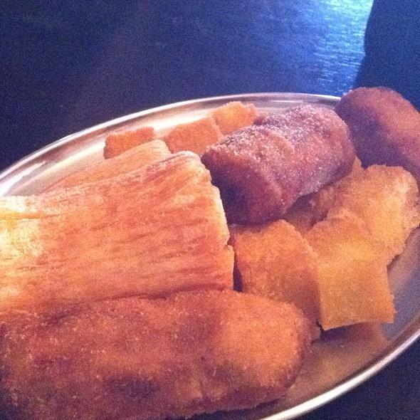 Mandioca, Polenta E Banana Milanesa @ Rancho Do Vinho Morumbi