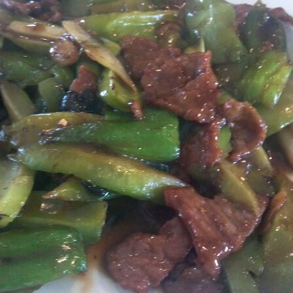 Beef with Bitter Melon @ China Bistro
