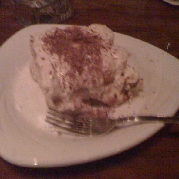 Tiramisu - Bertoldi's Trattoria, London, ON