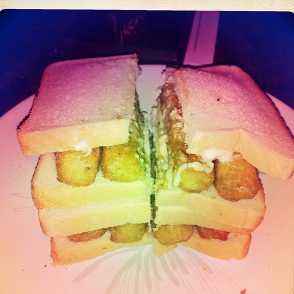 Double Fishfinger Sandwich! @ The Eagle's Nest