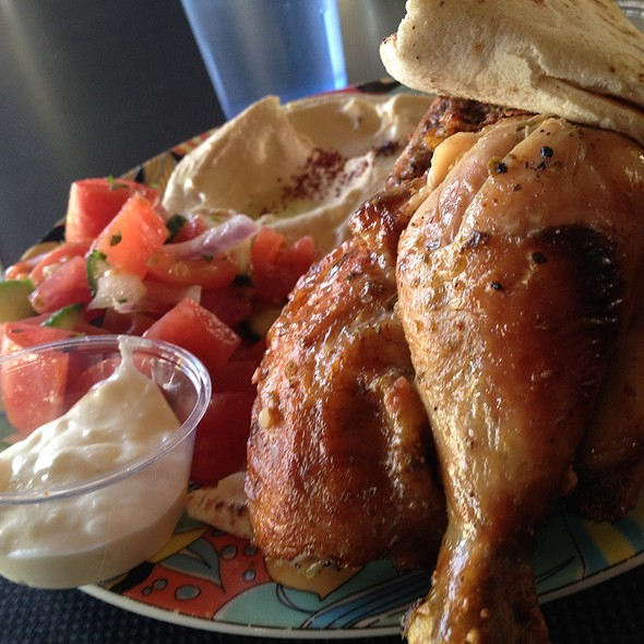 Half Chicken Platter @ Palmyra