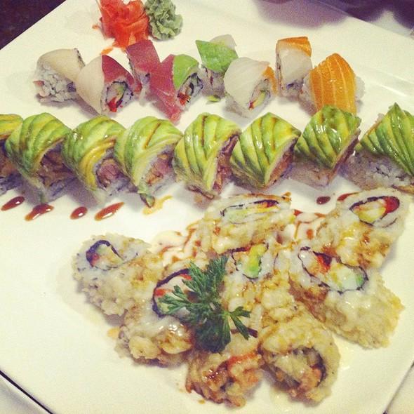 Assorted Sushi Plate  @ Niji Sushi
