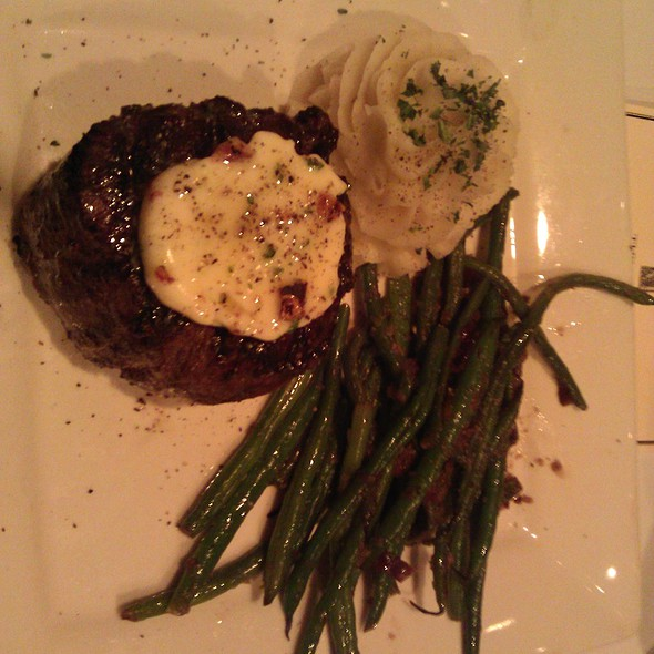 Filet of Beef Tenderloin with Stilton Walnut butter @ Metro Wine Bar & Bistro