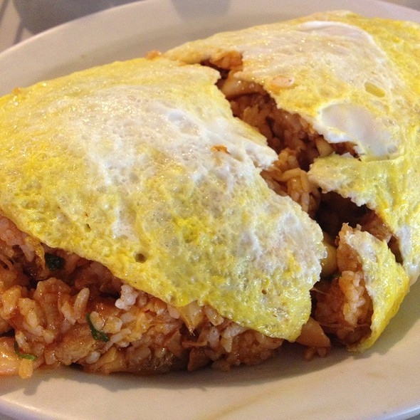 Kim Chee Adobo Fried Rice Omlet @ Alonzo's at Mililani Golf Club