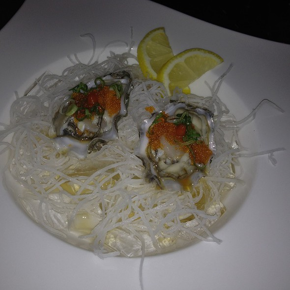Oysters on the Half Shell @ Harney Sushi Oceanside