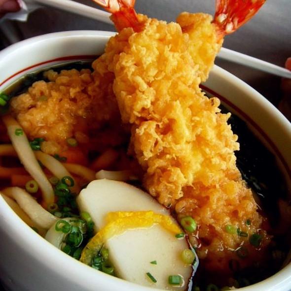 Shrimp Tempura Udon @ Tokyo Japan
