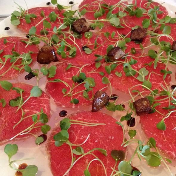 Beef Carpaccio - Villa Mozart Restaurant, Fairfax, VA